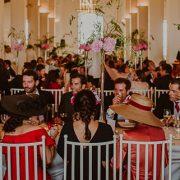 mesa larga catering bodas