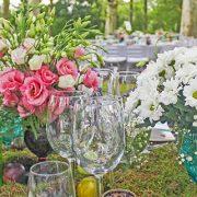 centro mesa catering bodas
