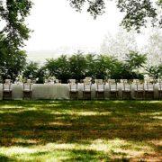 mesas largas catering bodas